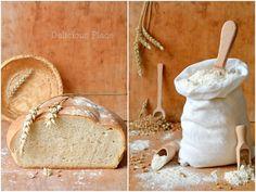Delicious Place: Prosty chleb pszenny