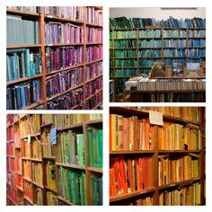 Colour coordinated books