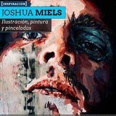Ilustración, pintura y pinceladas de JOSHUA MIELS. Rostros y expresividad manual y digital desde Australia.  Leer más: http://www.colectivobicicleta.com/2013/06/Ilustracion-de-JOSHUA-MIELS.html#ixzz2XHtLnVUF