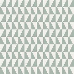 Brewster Home Fashions Scandinavian Designers II Trapez Geometric x Wallpaper Roll Color: Light Green