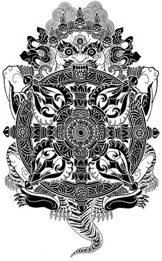 Esoterica: Kabbalah, eyes without faces, Kabbalistic astral projecting and the reveal and conceal of Tzimtzum – All Truth Exposed Tibetan Symbols, Tibetan Art, Hindu Tattoos, Symbolic Tattoos, Tibet Tattoo, Native American Art, American Indians, American History, Dark Art Tattoo