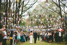 I am in love, in love, in love with the backyard wedding. More than anything.