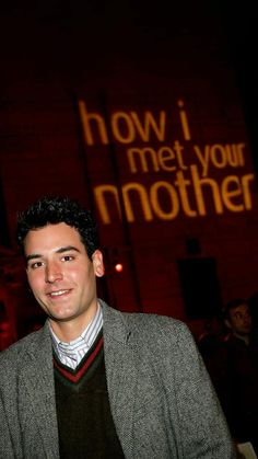 Best Night Ever, Himym, How I Met Your Mother, I Meet You, Tv Series, Ted, Tv Shows, Iphone, Wallpaper