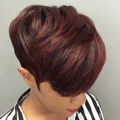 Today we have the most stylish 86 Cute Short Pixie Haircuts. Pixie haircut, of course, offers a lot of options for the hair of the ladies'… Continue Reading → Pixie Haircut For Thick Hair, Short Sassy Hair, Short Hair Cuts, Short Hair Styles, Natural Hair Styles, Color On Short Hair, Pixie Natural Hair, Short Black Hairstyles, Short Pixie Haircuts