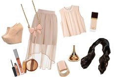 """Love DiffLength Skirts"" by amck-mb on Polyvore"