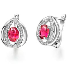 Virgin Shine Platinum Plated Rhinestone Overlapping Red Fire Earrings VIRGIN SHINE http://www.amazon.com/dp/B00KK6QRU6/ref=cm_sw_r_pi_dp_RIVLub0P3KBQ0