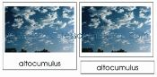 WEATHER THEME Cloud Card printables from Montessori Print Shop