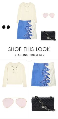 """""""Untitled #10415"""" by explorer-14576312872 ❤ liked on Polyvore featuring Madewell, Lilly Pulitzer and Chanel"""