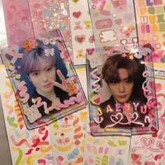 Nct, Cards Ideas, Polaroid Decoration, Kpop Diy, Indie, Pop Collection, Journal Aesthetic, Kpop Merch, Bullet Journal Ideas Pages
