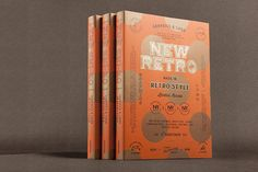 New Retro is a compendium of retrospective logo and graphic solutions that draw ideas from memories, oldies and classic aesthetic ideologies.