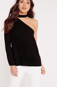 Bluze şi cămăși Bluze  - Missguided - Bluza Choker Neck