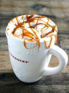 Caramel Macchiato, también en versión #Iced #Starbucks #Coffee #Caramelo #Vainilla #Cafe