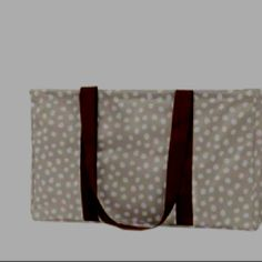 Large utility tote in new spring print Lotas Dots! Can be personalized for only $7. Great for going camping, sporting events, picnics, loading you're groceries, Laundry, Car Clutter and too many to list! Shop at www.mythirtyone.com/cdevillier