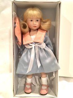 Puppen Spielzeug Heather Maciak  8 Porcelain LEXIE SHIP AHOY! Künstler- & handgemachte Puppen