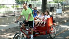 Pedicab Tours:  Pub Crawls- up to 8 people. We can suggest a route for you or you can let us know where you want to go!   Art District Tours- Explore Klyde Warren Park, the Winspear, One Arts Plaza, the DMA, Perot Museum, the Nasher and more. Do it all in a day with a Pedicab guided tour. Have lunch at the park and enjoy all of the culture that Dallas has to offer.