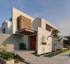 casas contemporaneas - Buscar con Google #fachadasminimalistasmadera