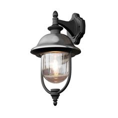 Konstsmide Parma Down Light Black and Stainless Steel. Non Traditional Style Garden Porch Lights Online. Dar Lighting, Types Of Lighting, Outdoor Wall Lighting, Outdoor Wall Lantern, Outdoor Wall Sconce, Outdoor Walls, Light Bulb Bases, Light Fittings, Modern