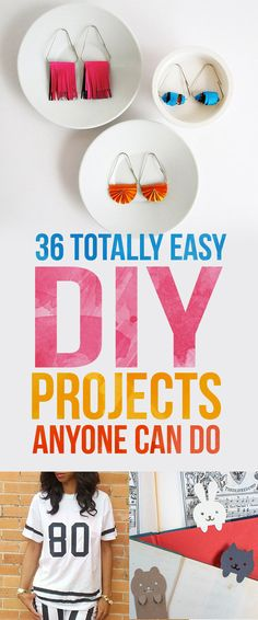 36 Totally Easy DIY Projects To Try In 2016