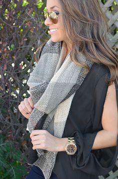 Be There Or Be Square Scarf: Multi