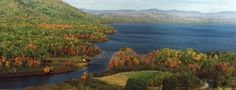 Fall rushes in the kaleidoscope of colors that decorate  the landscape of Jackman, Maine...