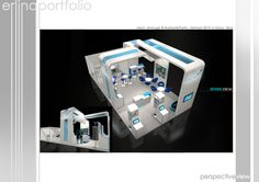 EXHIBITION BOOTH by Erlina Chang, via Behance