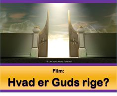 Hvad er Guds rige? Venligst se denne video:  https://www.jw.org/da/publikationer/b%C3%B8ger/gode-nyheder-fra-gud/hvad-er-guds-rige/video-rige-komme/. Så læse dette: https://www.jw.org/da/publikationer/b%C3%B8ger/gode-nyheder-fra-gud/hvad-er-guds-rige/. (What is God's Kingdom? Please watch this video, then read this.)