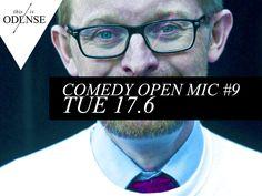 Comedy Open Mic #9. En aften med de nye sjove talenter. #comedyopenmic #studenterhusodense @studenterhusodense #sebastiandorset @Marie Toft #odense #mitodense #thisisodense Læs anbefalingen på: www.thisisodense.dk/14162/comedy-open-mic-9