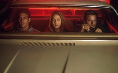 Paul Walker, Leelee Sobieski and Steve Zahn in 'Joyride'.