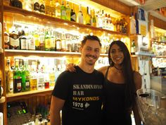 Our Party professionals are always smiley and ready to serve you.Just be ready for a fun night in Mykonos. #Skandinavian
