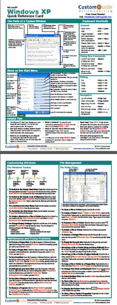 Free Access 2013 Quick Reference Card. http://www.customguide.com ...