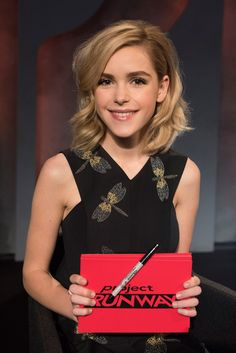 Season 14, Episode 4 Photos - myLifetime.com. Guest Judge Kiernan Shipka.