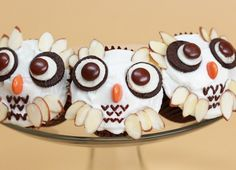 "Make These Super Cute ""Harry Potter"" Hedwig Cupcakes [Video]"