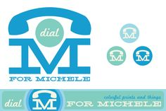 Dial M for Michele Etsy Art giveaway