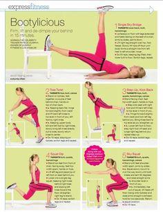 15-Minute Bootylicious Butt Workout