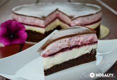 Málnás-csokoládés joghurttorta | NOSALTY Brownies, Sandwiches, Cheesecake, Baking, Sweet, Food, Cake Brownies, Candy, Cheese Cakes