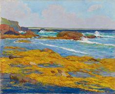 Maxime-Emile-Louis Maufra, Les Goémons jaunes, 1891, Auction 1013 Modern Art May 25 2013, Lot 652