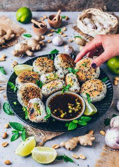 Rice Cooker Recipes, Veggie Recipes, Asian Recipes, Healthy Recipes, Barley Recipes, Japanese Recipes, Veggie Meals, Yaki Onigiri, Japanese Rice