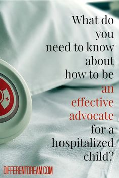 What do you need to know about how to advocate for a hospitalized child? Complete this survey as part of a series and become eligible to win a free book.