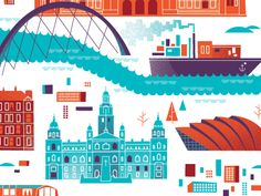 Creative Brent, Couchman, Cartography, Glasgow, and Map image ideas & inspiration on Designspiration Glasgow Map, Glasgow Scotland, England And Scotland, Branding, Map Design, Book Projects, Illustrations, Travel Maps, Cartography