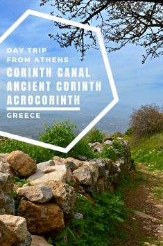 Planning a day trip from Athens to Corinth (Greece)? Find out what to see around Corinth, including the world-famous Corinth Canal, Ancient Corinth and last but not least the stunning fortress of Acrocrinth. Travel Europe Cheap, Europe Travel Guide, Europe Destinations, Corinth Greece, Corinth Canal, Greece Itinerary, Greece Travel, Greece Vacation, Italy Travel