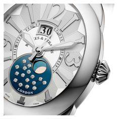 The Regent 1609 Big Date Moon face time piece.