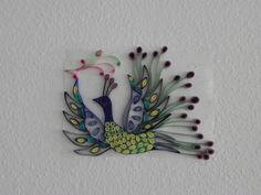 quilling patterns | ... and peacock...I got the designs thru google..thought of trying it