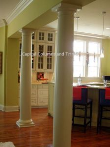 1000 Images About Decorative Interior Wood Columns On