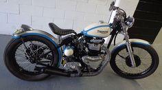 Triumph Bobber #motorcycles #bobber #motos   caferacerpasion.com