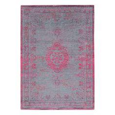 Louis De Poortere Fading World Rugs 8261 Pink Flash