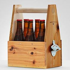 Wooden 6 pack holder diy sweepstakes