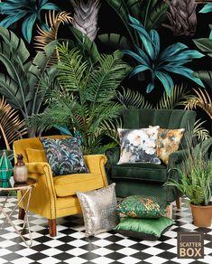 Abbeylands Furniture - Inspiring Creativity in Home Furnishings Tropical Interior, Tropical Decor, Tropical Furniture, Bedroom Plants Decor, Room Decor, Maximalist Interior, Yoga Studio Design, Estilo Tropical, Tropical Houses
