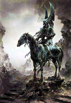 Spectros Demon Horse Fantasy Demon Fantasy Monster Dark Fantasy Art Fantasy Artwork