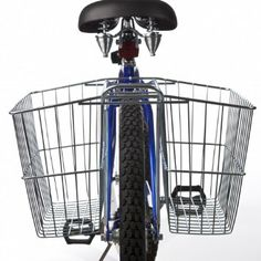 Amazon.com: Wald 535 Rear Twin Bicycle Carrier Basket (18 x 7.5 x 12): Sports & Outdoors