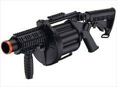 ICS-190 GLM Airsoft Gas Grenade Launcher - AirRattle - Welcome to amazing airsoft gun prices and customer service - air soft specialist